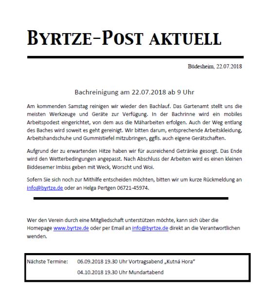 Byrtze Post\